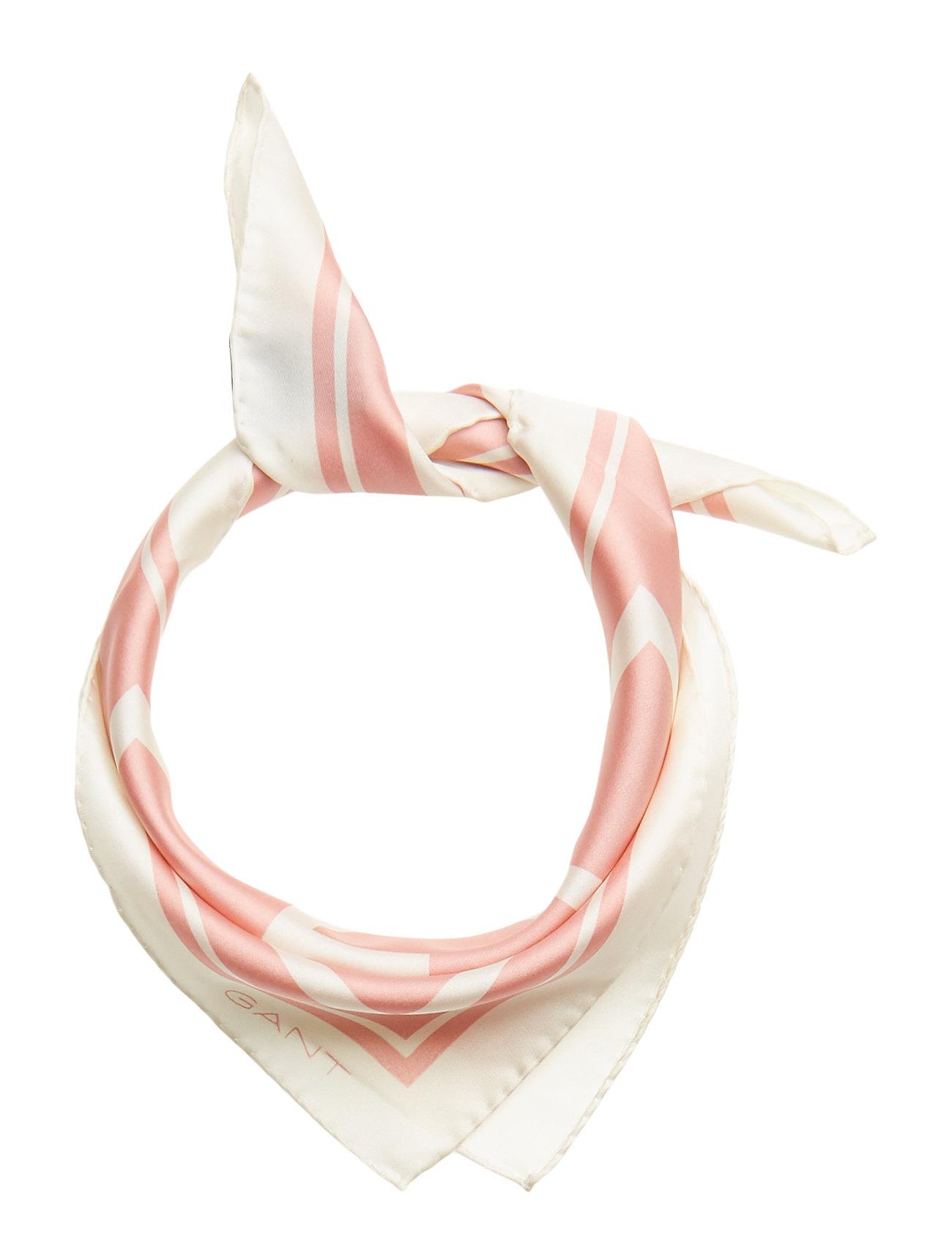 GANT O1. G Silk Scarf Schal Pink GANT