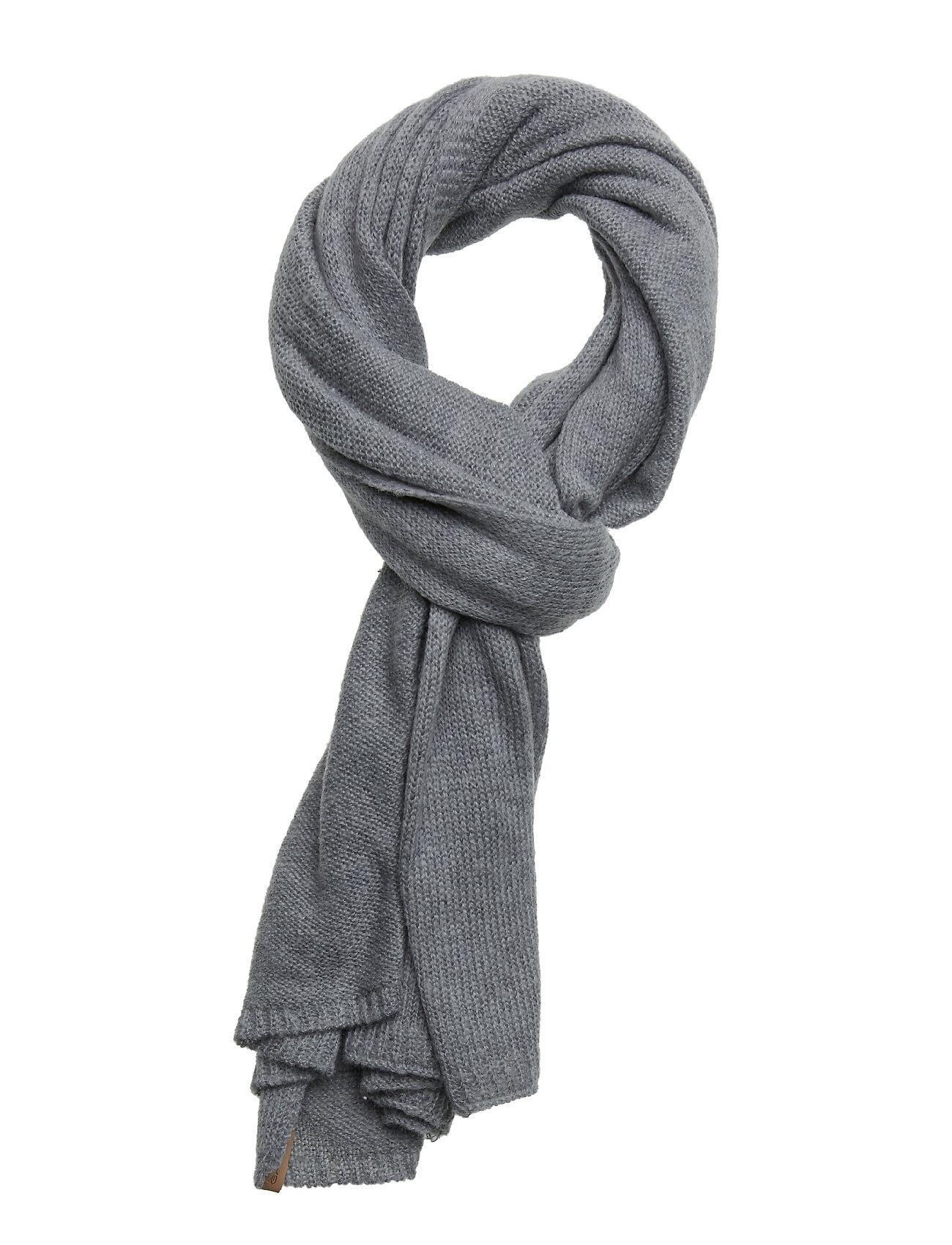 Image of O1. Knitted Scarf Tørklæde Grå GANT (3127174885)