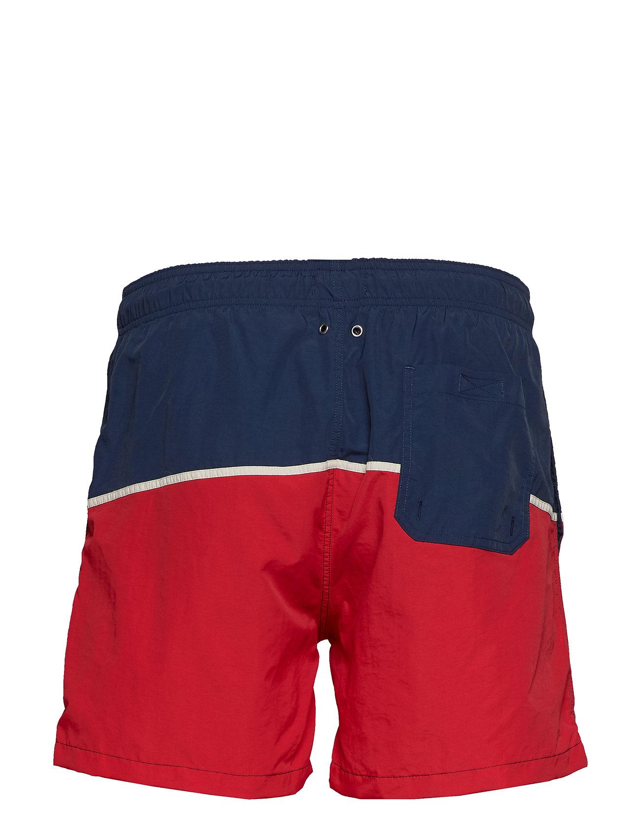 Großhändler cae54 55264 Cut And Sewn Swim Shorts C.F Badeshorts Blå GANT