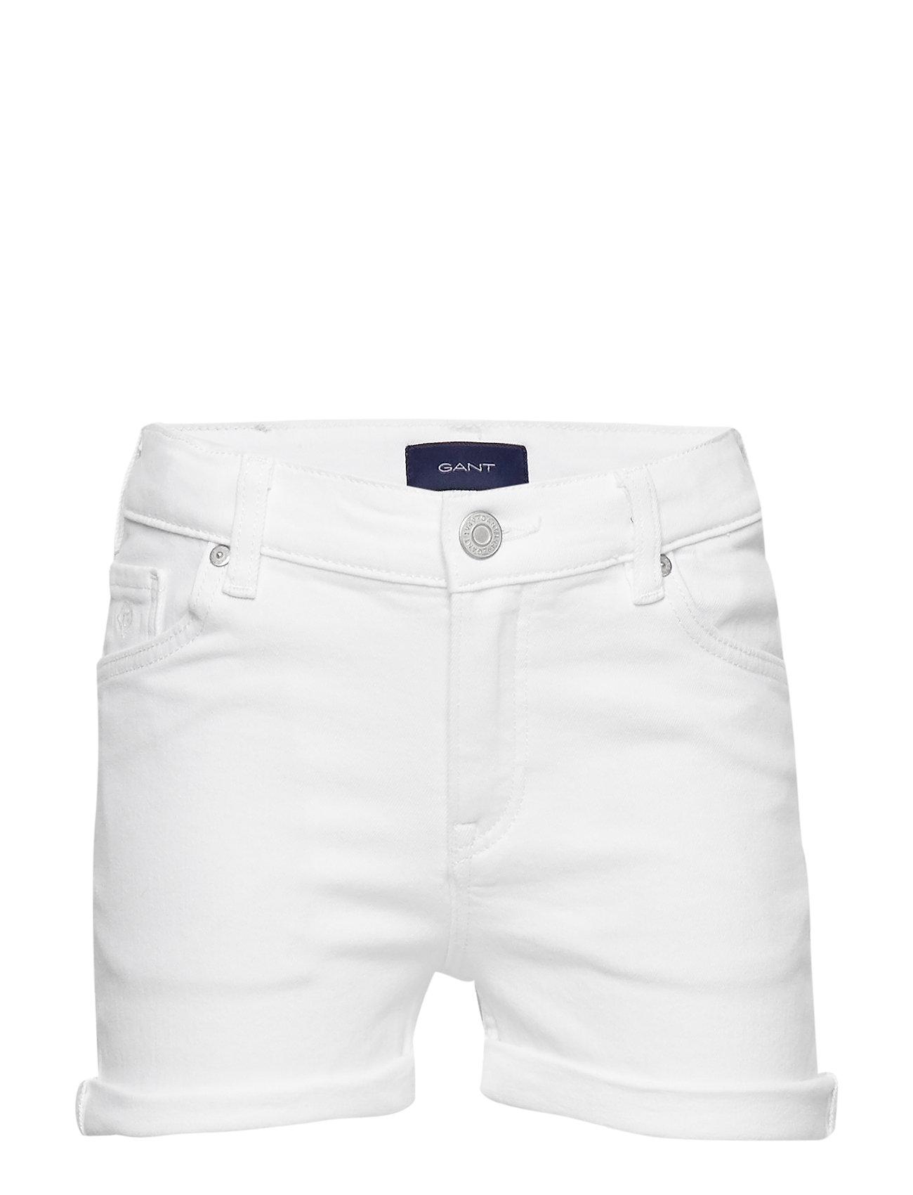 Gant D2. TWILL SHORTS - WHITE