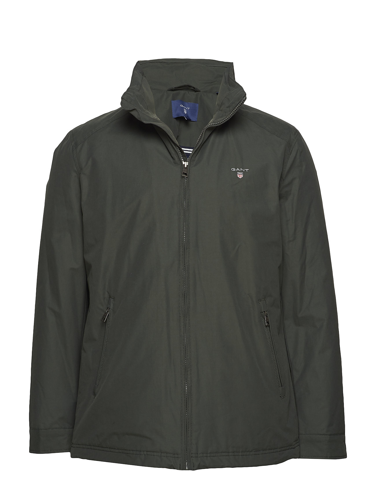 Gant O1. THE MIDLENGTH JACKET - COUNTRY GREEN