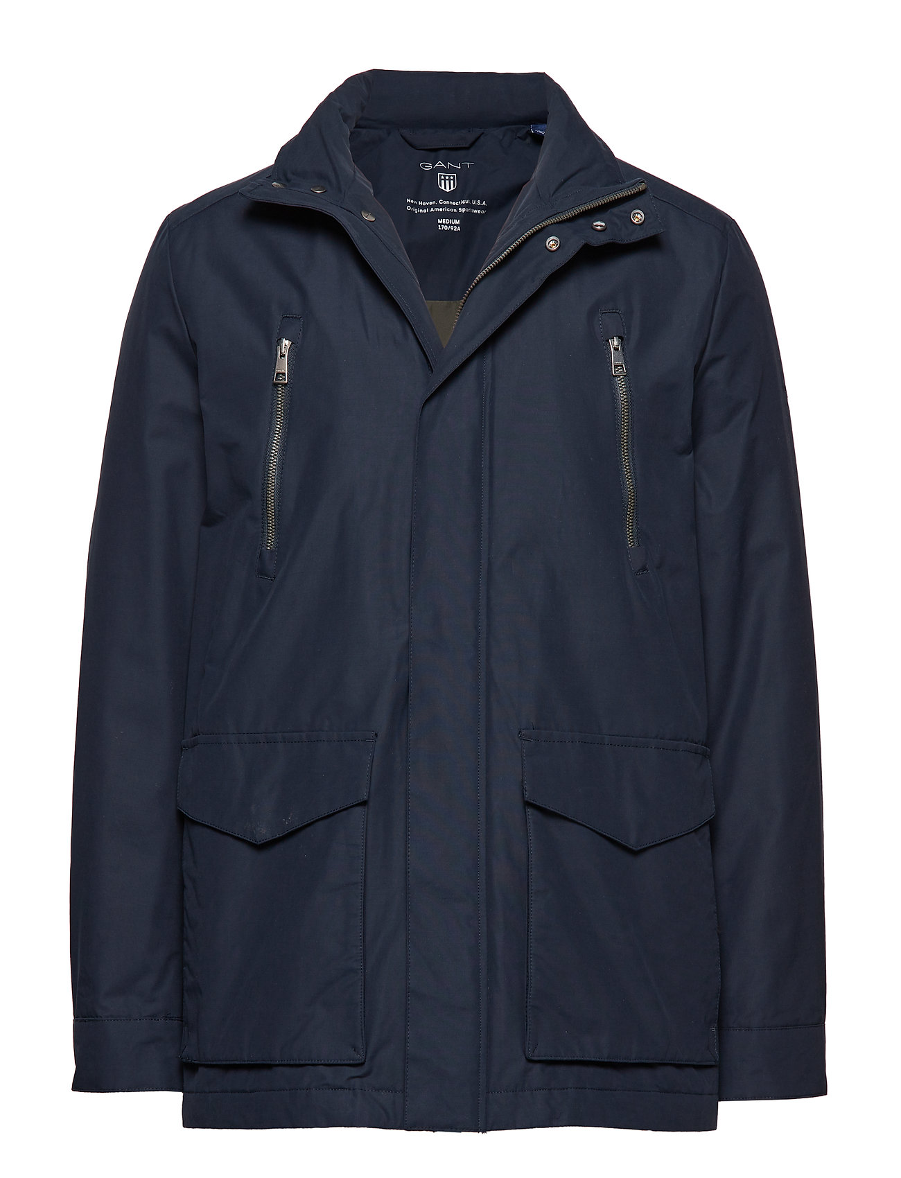 GANT O1. THE AVENUE JACKET - NAVY