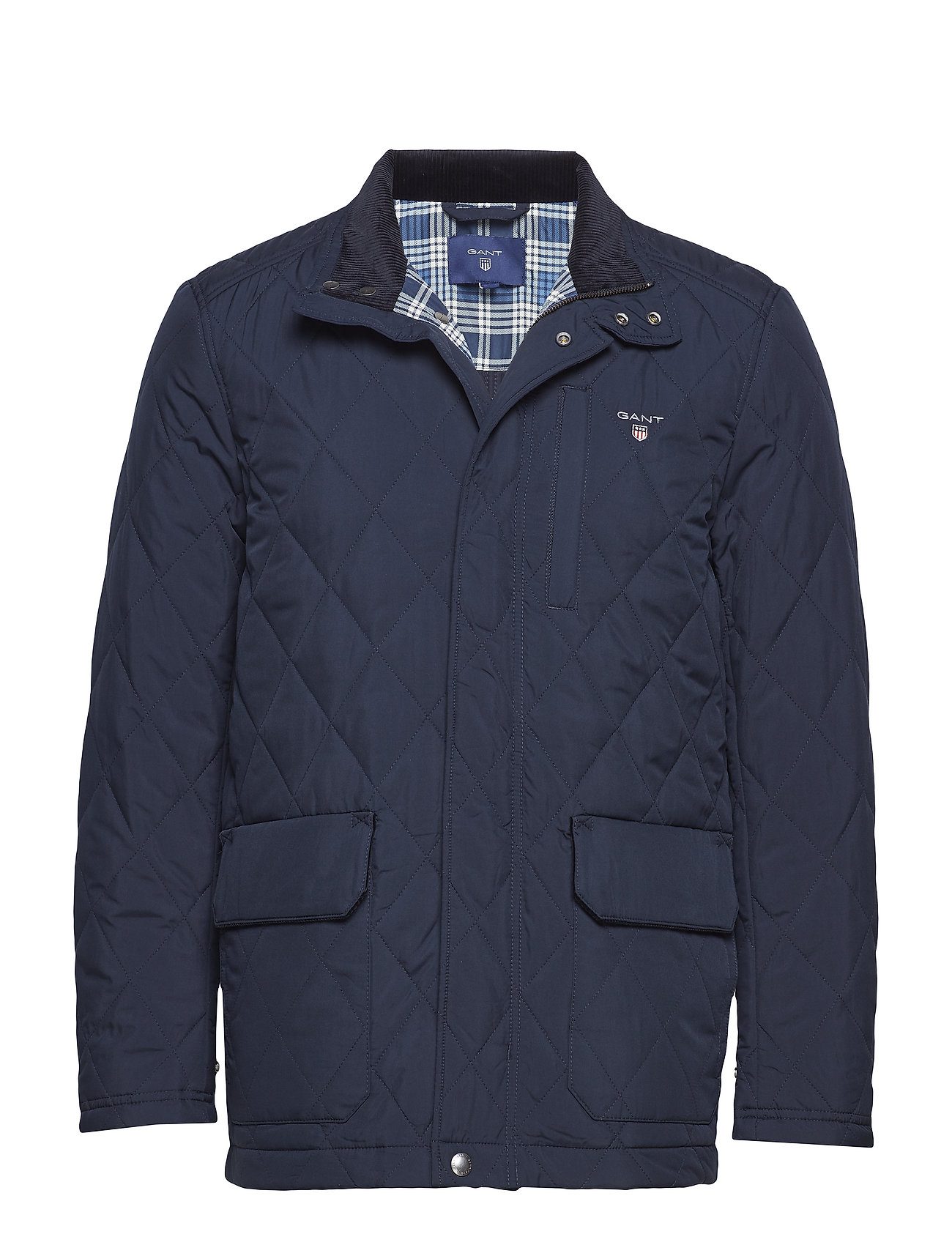 GANT O1. THE QUILTED CITY JACKET