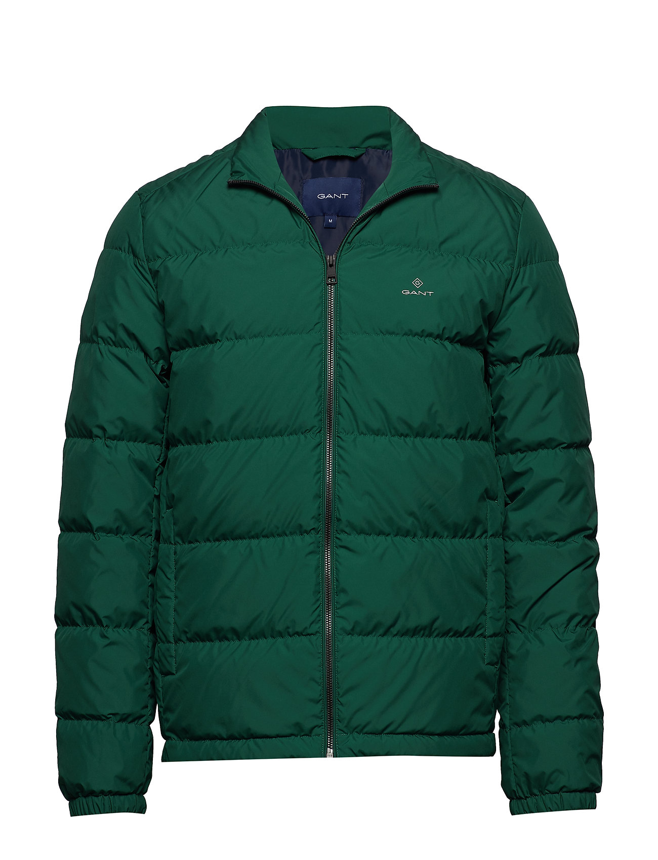 Gant O1. THE PANEL DOWN JACKET - IVY GREEN