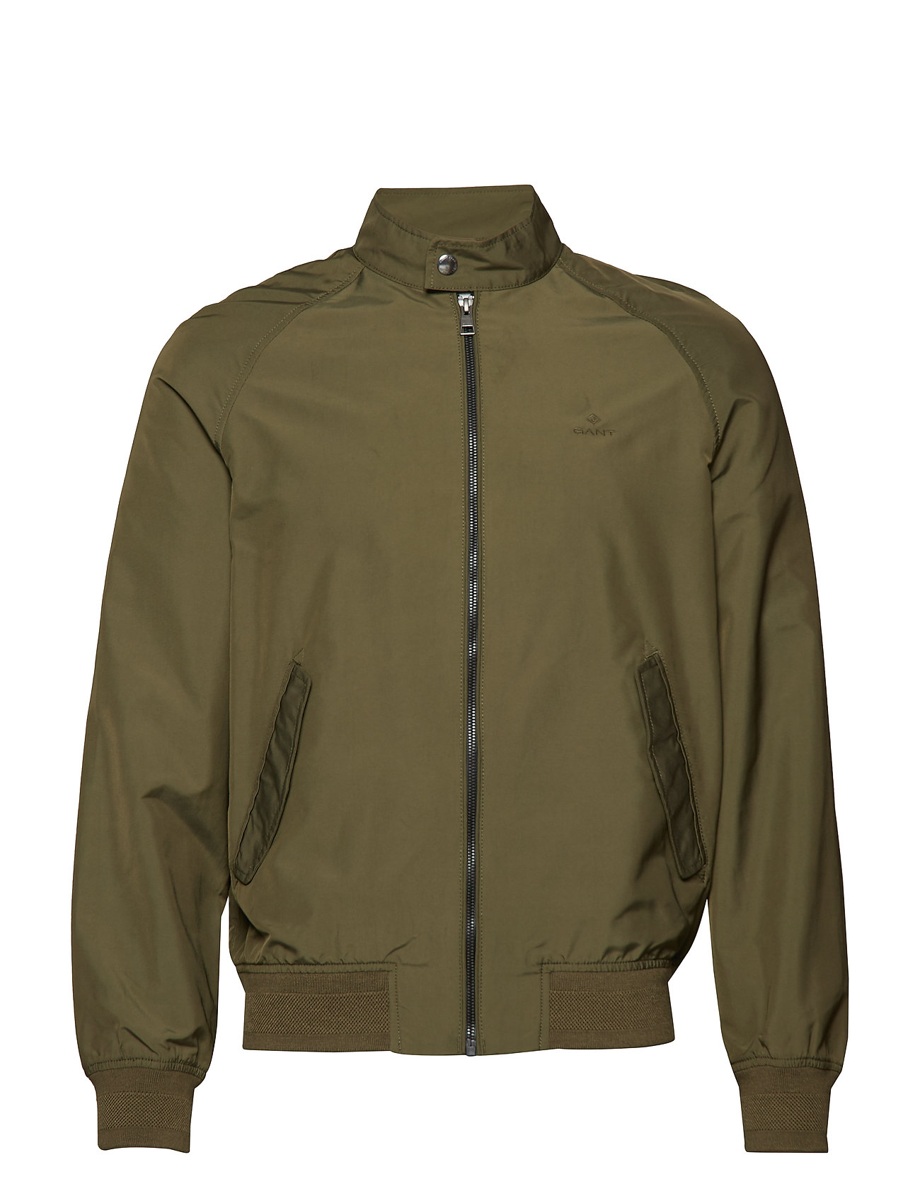 Gant O1. THE URBAN OXFORD JACKET - DEEP LICHEN GREEN