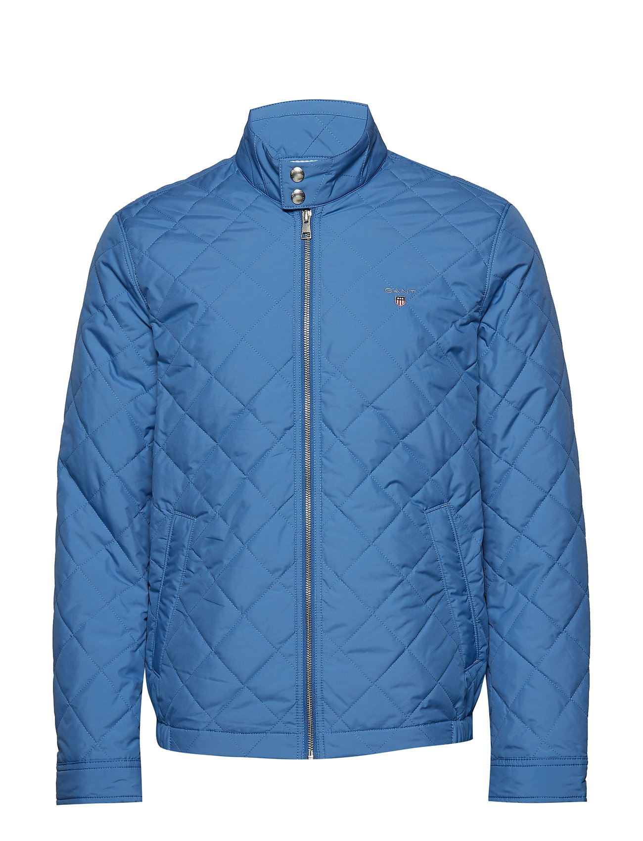 Gant O1. THE QUILTED WINDCHEATER - POSEIDON BLUE