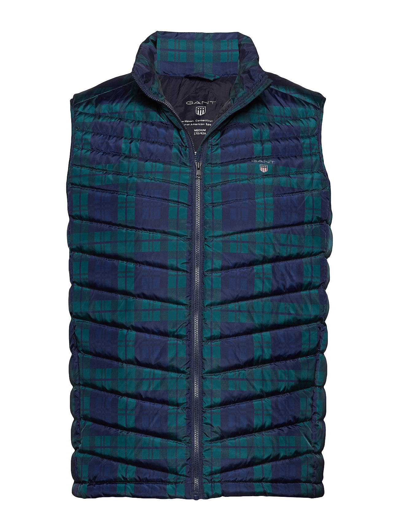 GANT O1. THE BLACKWATCH AIRLIGHT VEST