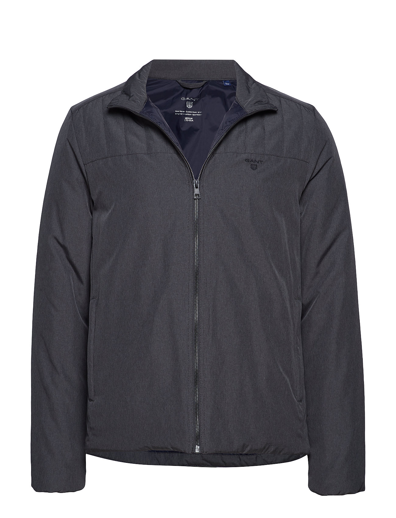 Gant O2. THE PADDED JACKET - CHARCOAL MELANGE