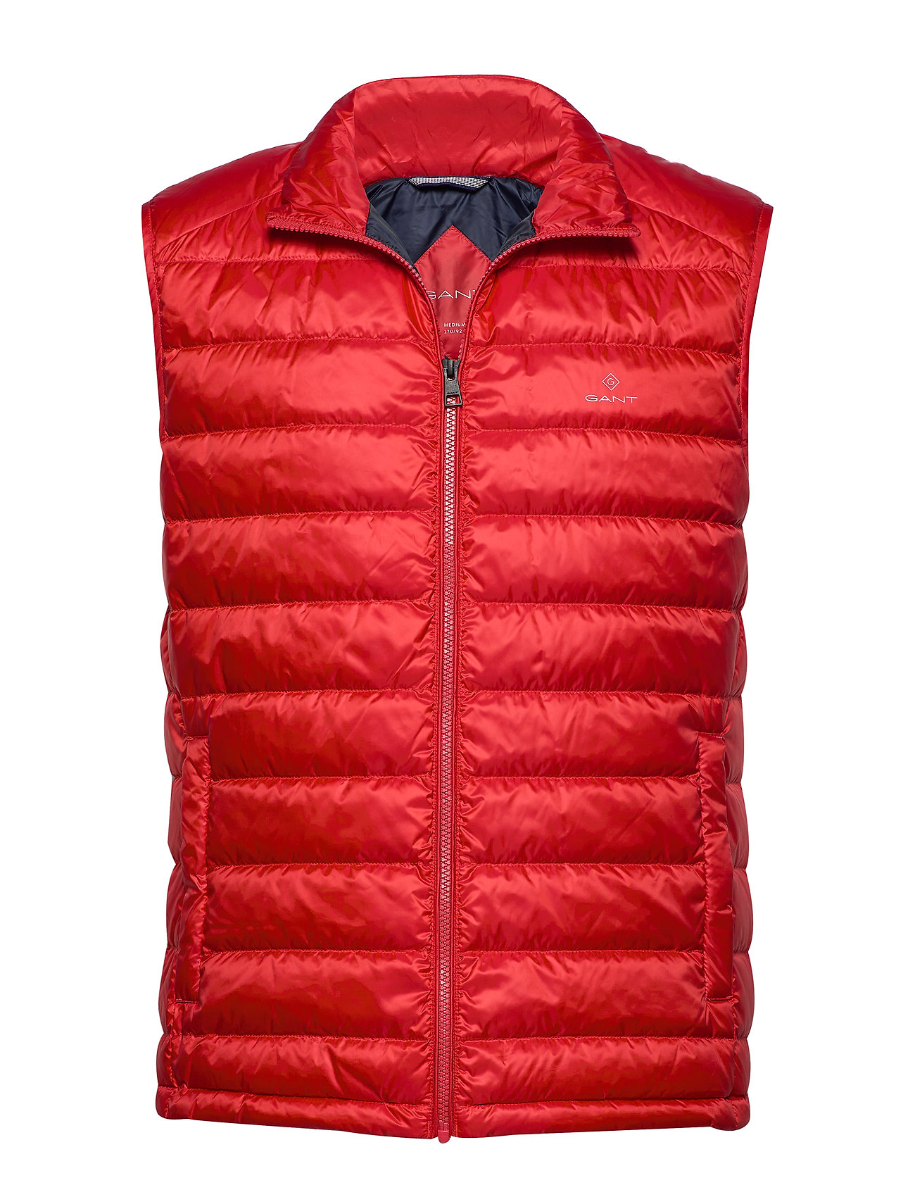 Gant D.1 THE LIGHT DOWN GILET - BLOOD ORANGE