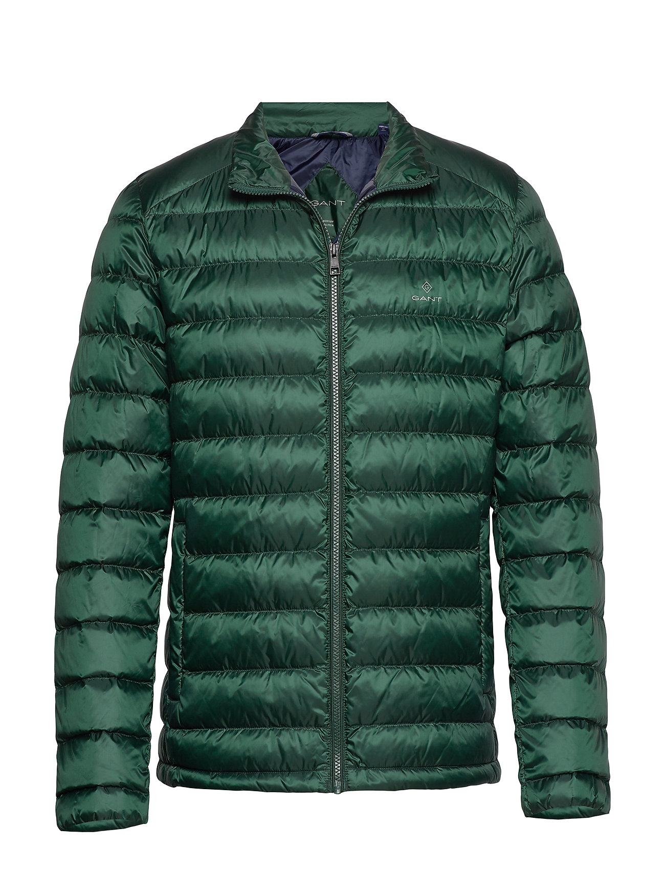 Gant D1. THE LIGHT DOWN JACKET - TARTAN GREEN