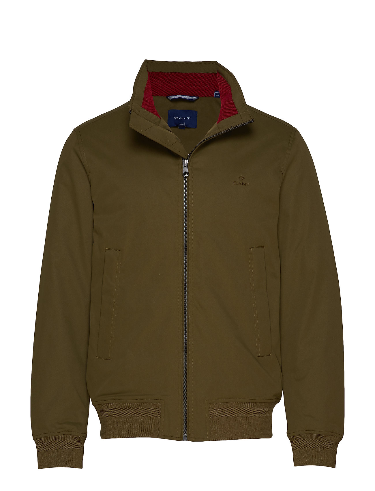 Gant D1. THE HAMPSHIRE JACKET - DARK CACTUS