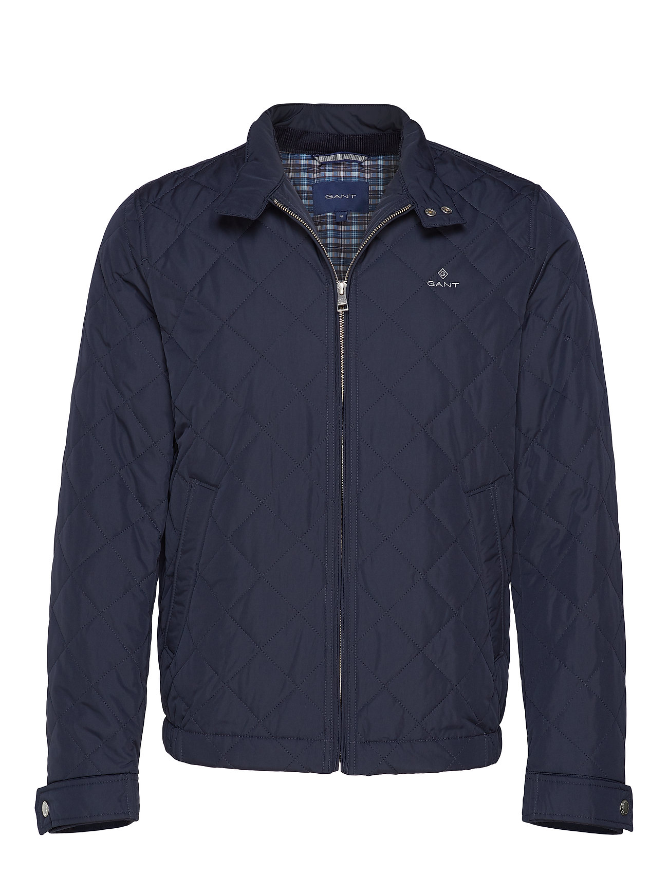 GANT D1. THE QUILTED WINDCHEATER - EVENING BLUE