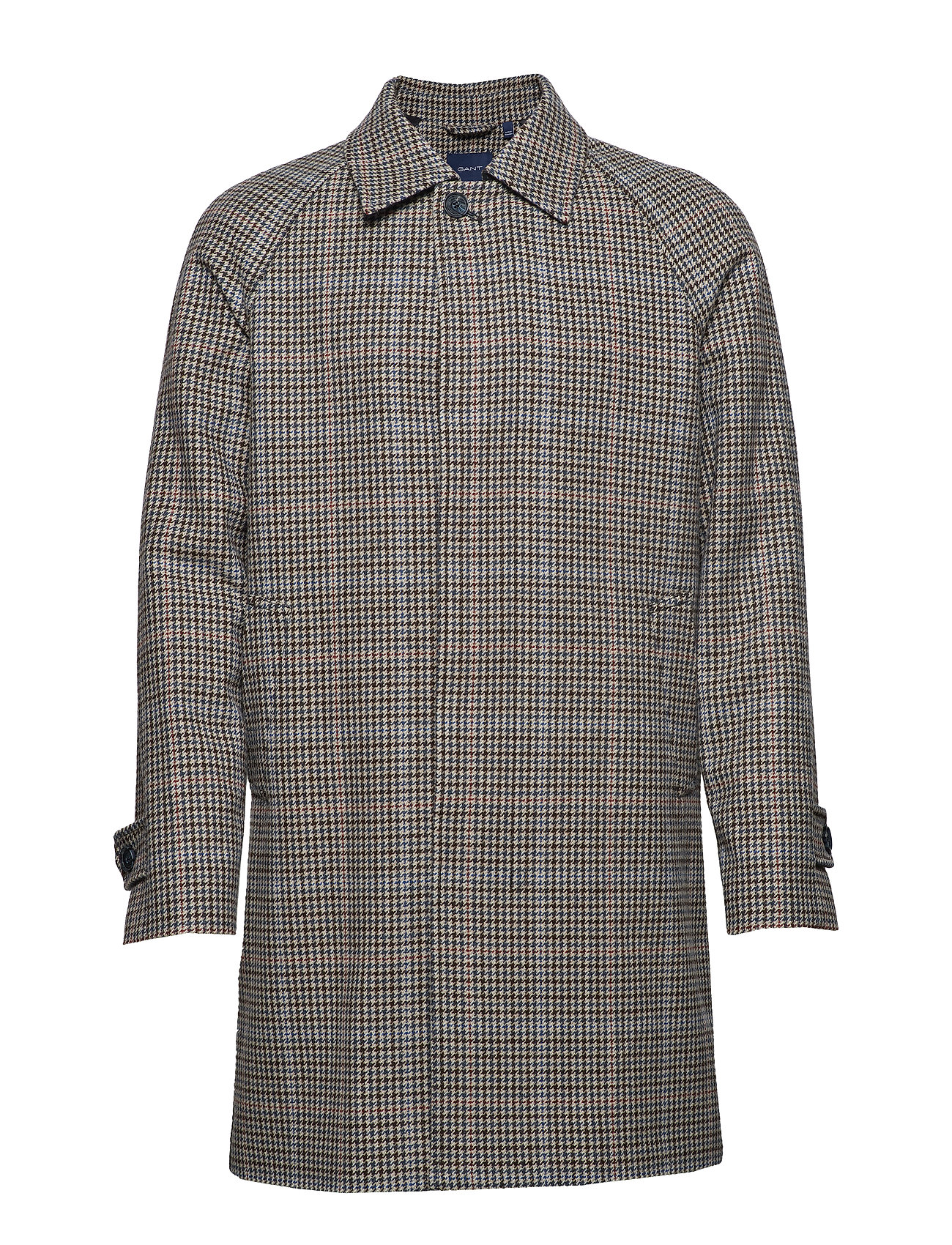 GANT D1. THE HIGHLAND COAT - EGGSHELL