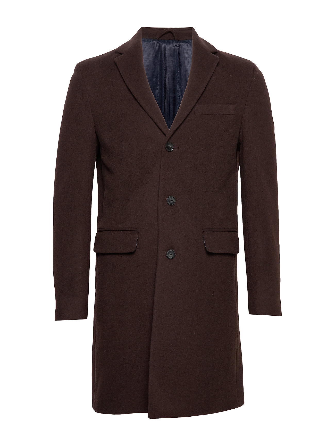Gant D1. THE CLASSIC WOOL COAT - JAVA