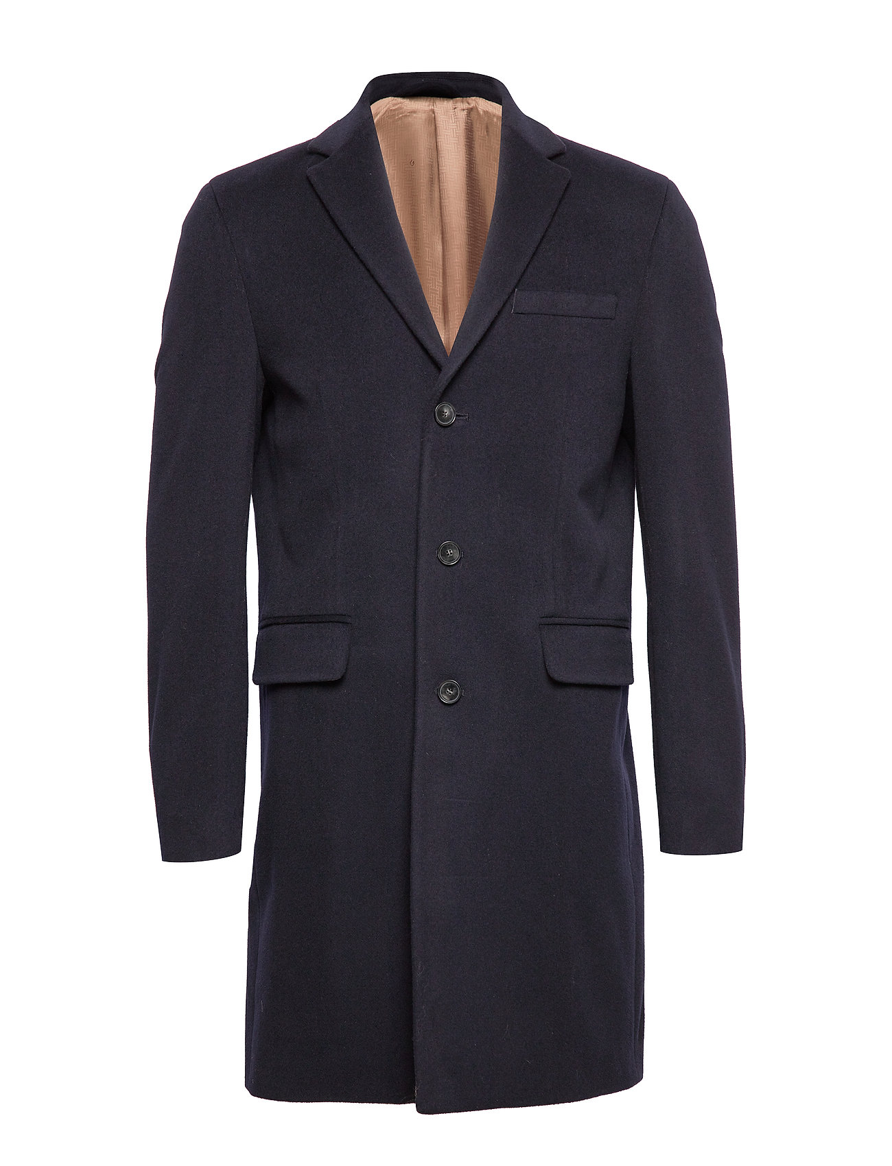GANT D1. THE CLASSIC WOOL COAT - MARINE