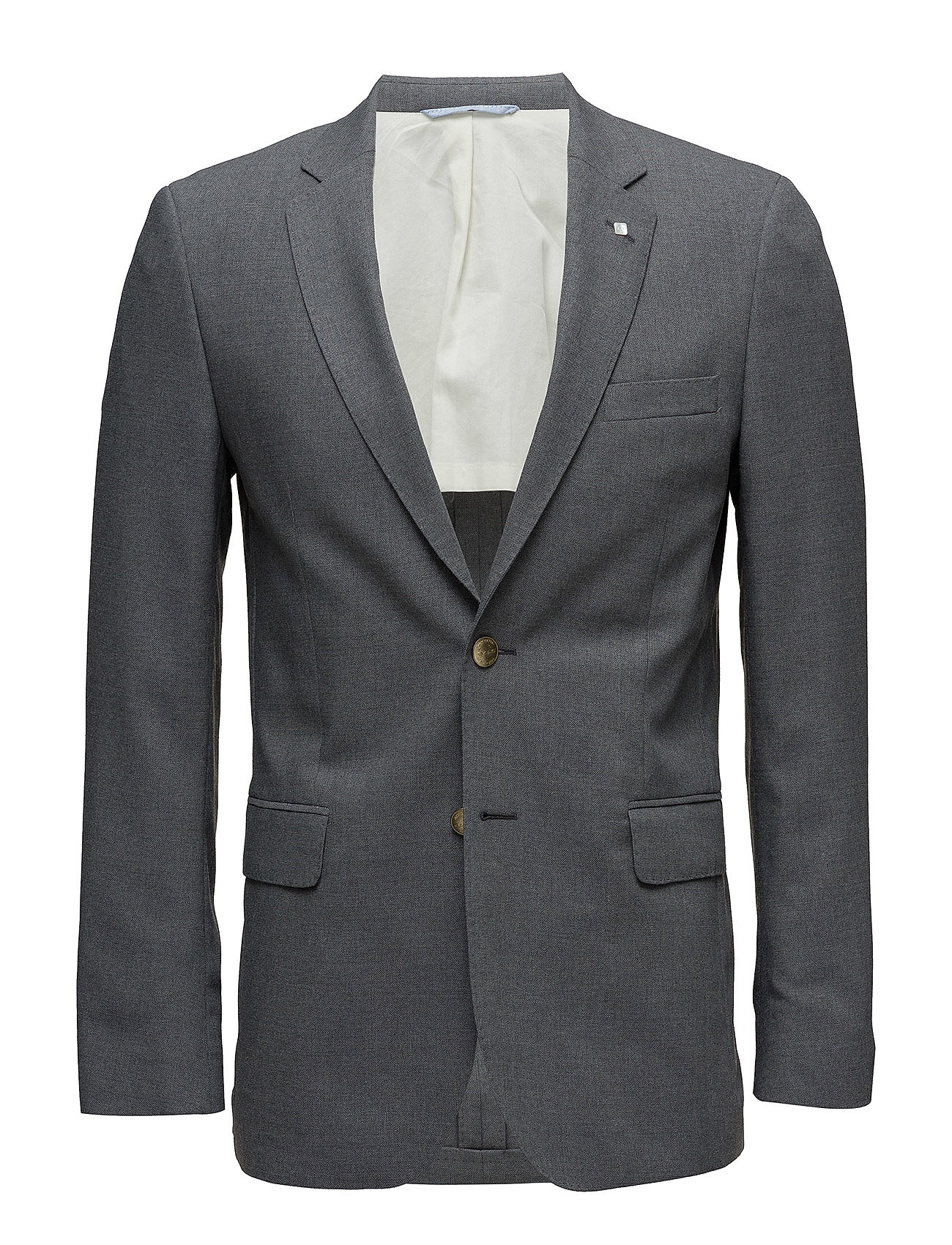 Gant THE SLIM CLUB BLAZER - DARK GREY MELANGE