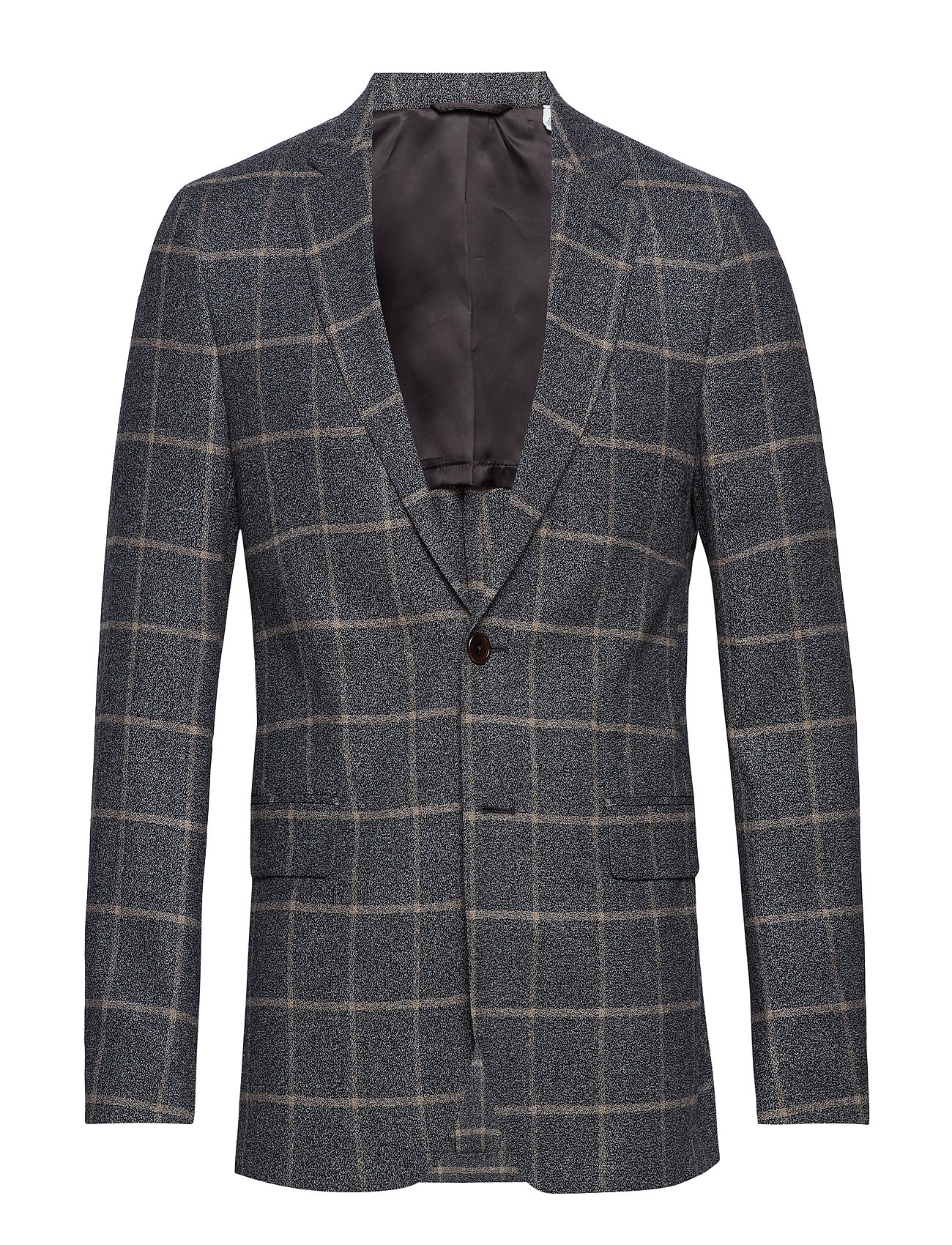 Gant G2. THE WINDOWPANE SPORTS COAT - GREY MELANGE