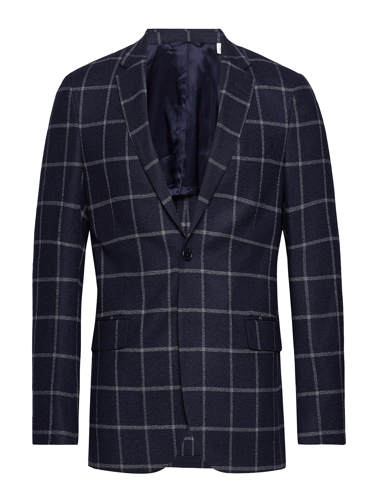 Gant G2. THE WINDOWPANE SPORTS COAT - PERSIAN BLUE