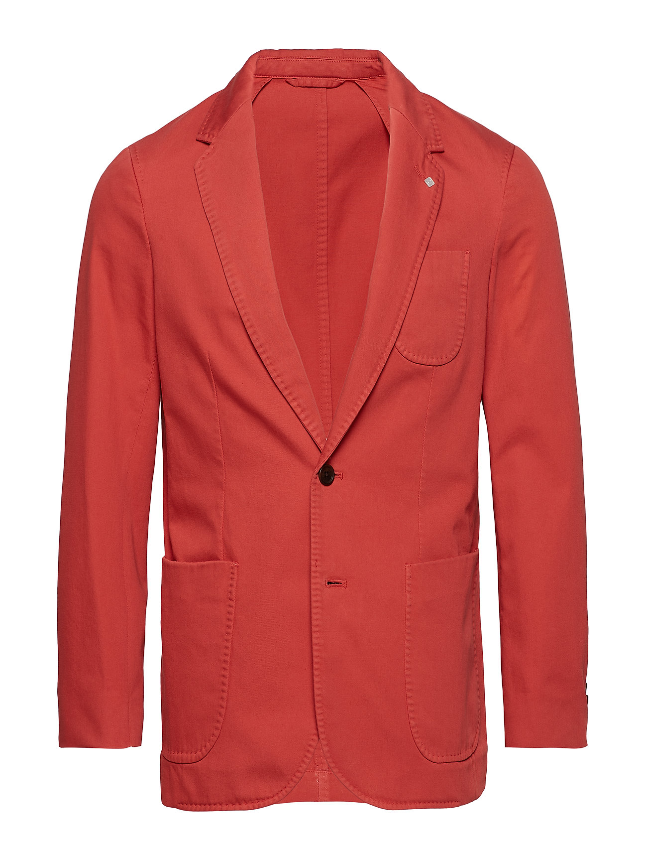 GANT O2. THE SUNBLEACHED SPORTS COAT - MINERAL RED