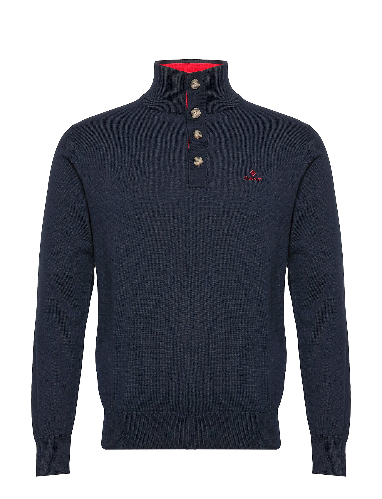 Gant D1. SPORTY MOCKNECK - EVENING BLUE