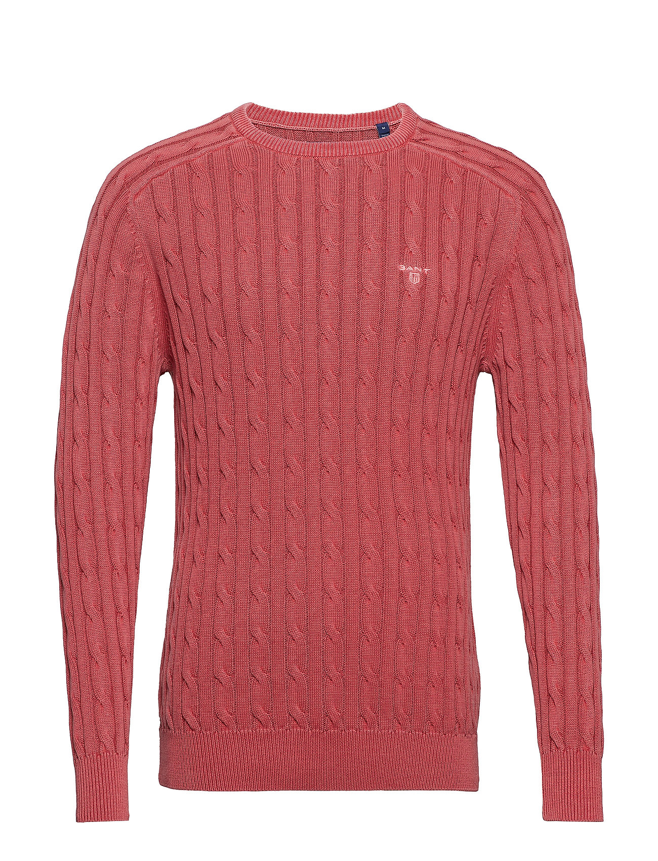 Gant O2. SUNBLEACHED CABLE CREW - CARDINAL RED