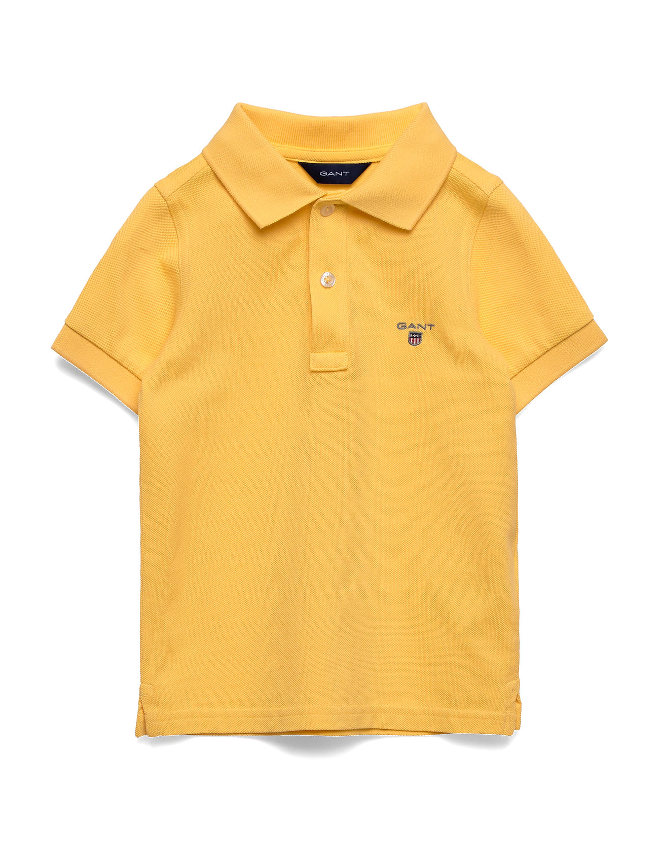 Gant THE ORIGINAL PIQUE SS - MIMOSA YELLOW