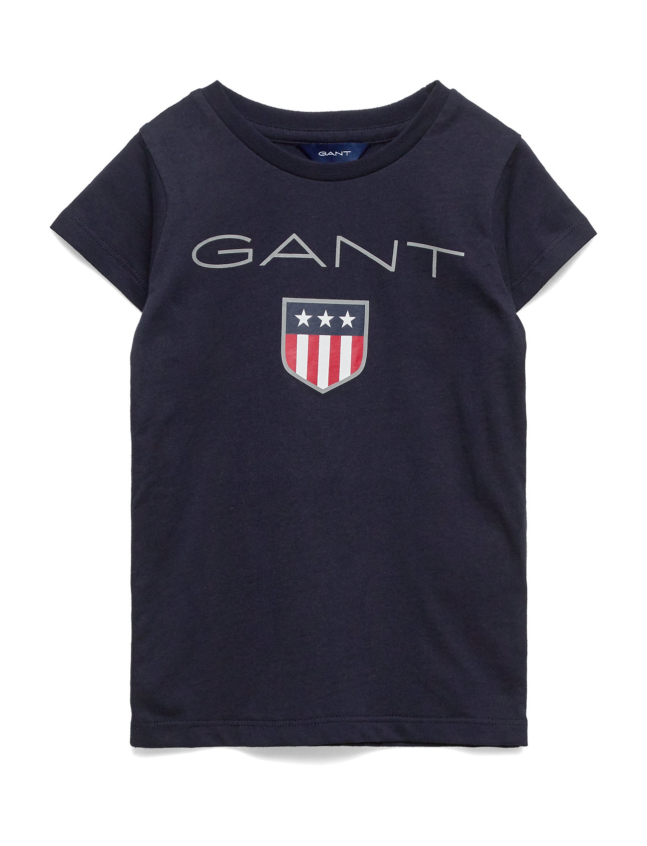 Gant GANT SHIELD LOGO SS T-SHIRT - EVENING BLUE
