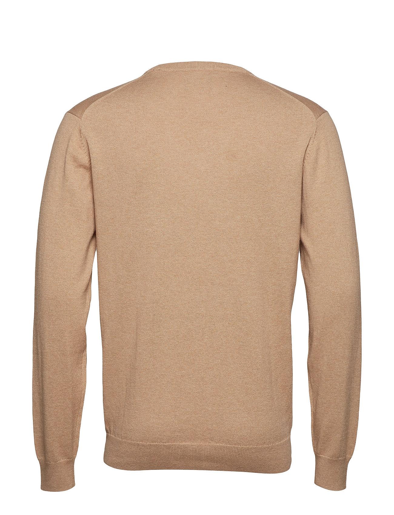 Cotton V Cotton V neckkhaki MelGant V Wool neckkhaki MelGant Wool Wool Cotton bg7Yfv6y
