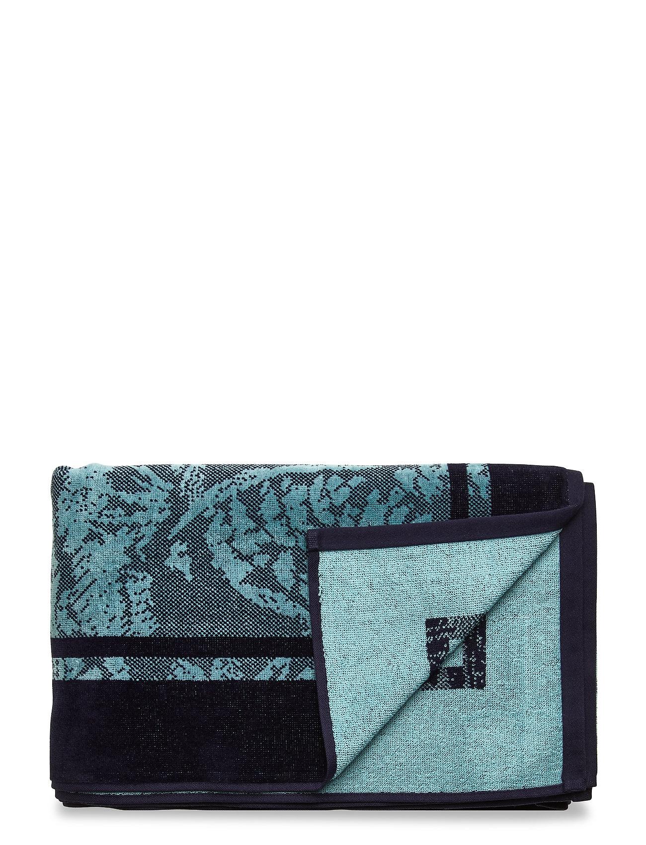 Gant View Beachtowel 100x180 Swimwear Beach Towels Blå Gant