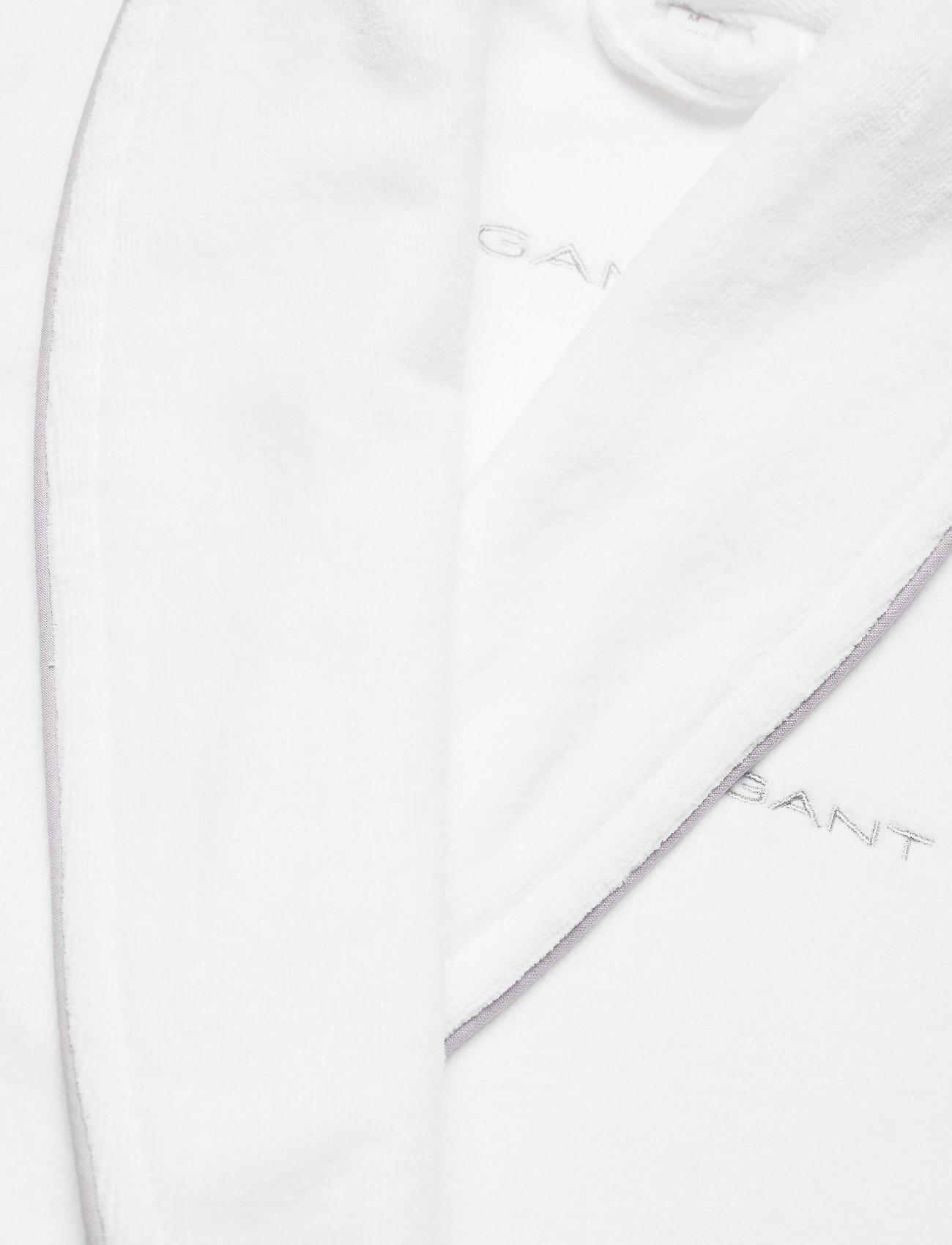 GANT - ORGANIC PREMIUM  ROBE - nachtmode - white - 2