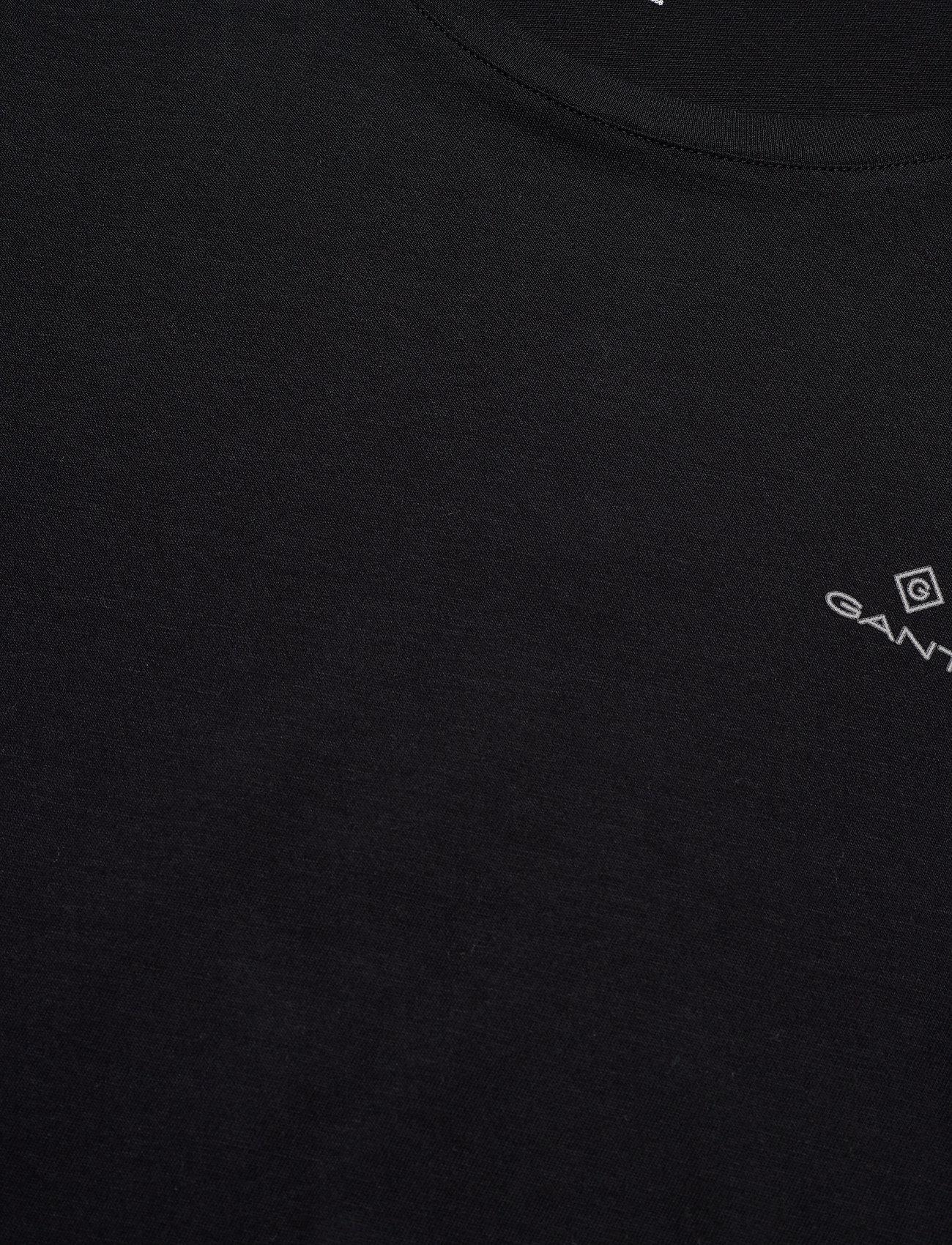 GANT BASIC 2-PACK CREW NECK T-SHIRT - T-skjorter BLACK / WHITE - Menn Klær