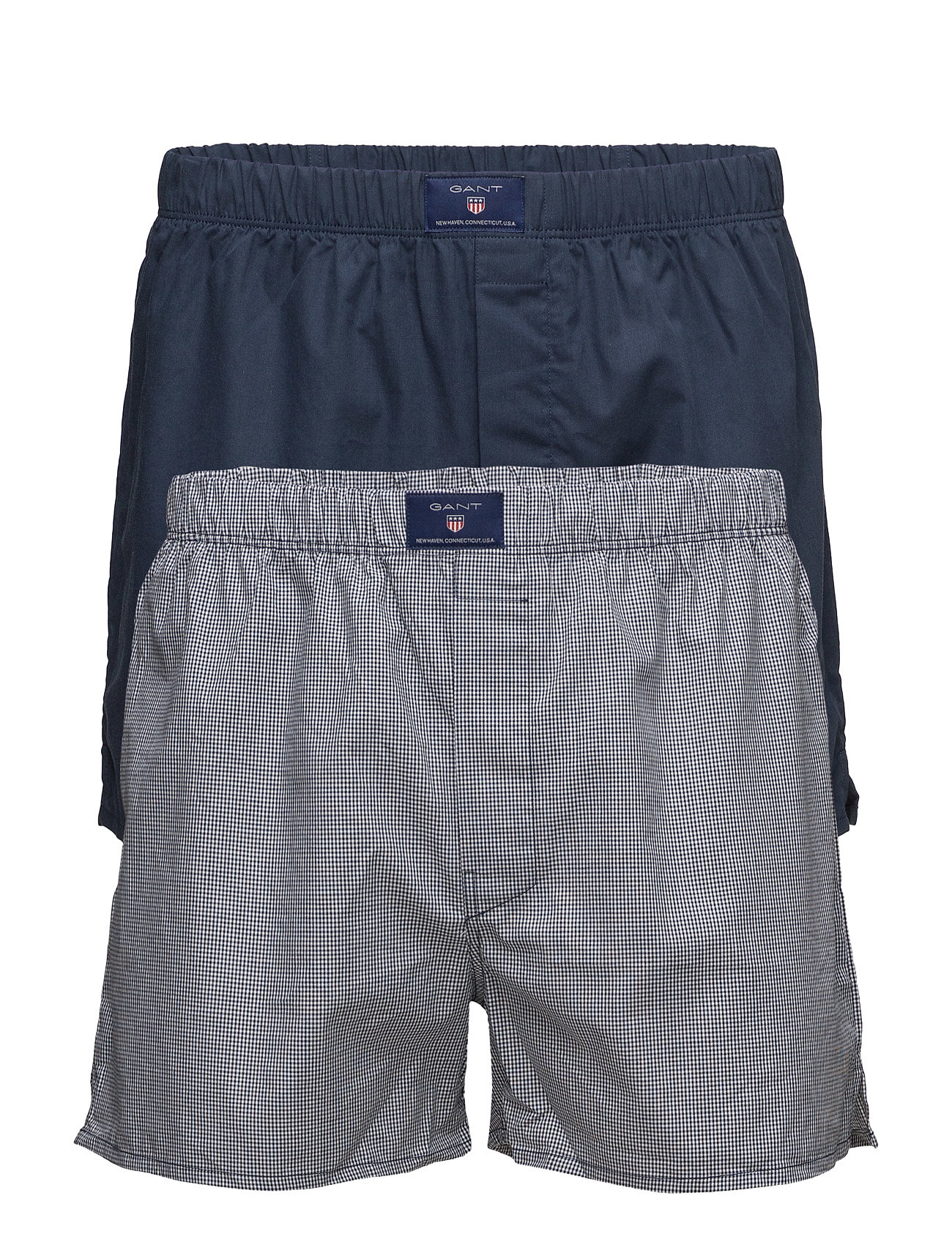 Gant 2-P BOXER SH GING SOLID TUNNEL - NAVY
