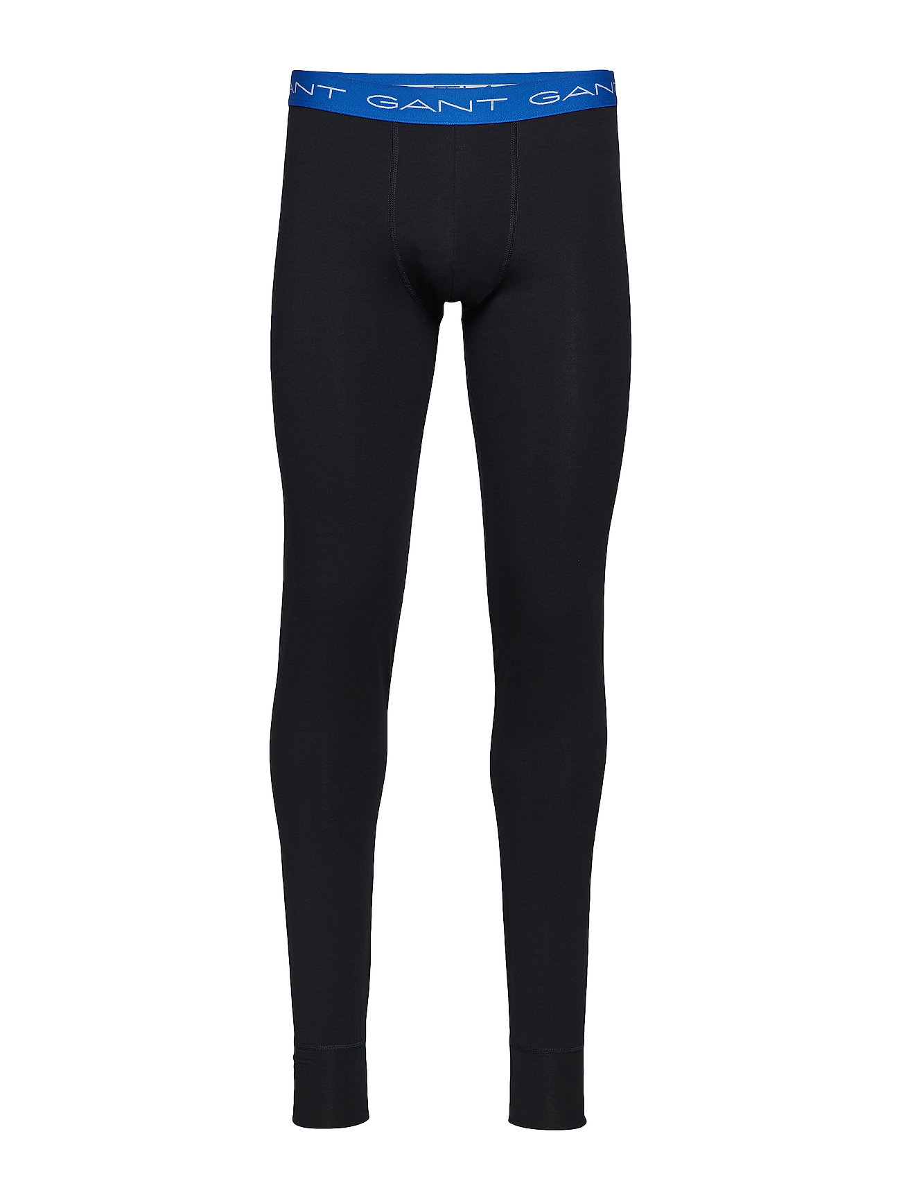 GANT LONG JOHNS SOLID COTTON STRETCH - BLACK