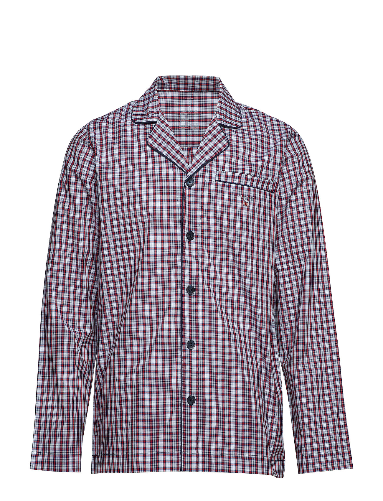 GANT PJ SET SHIRT POPLIN SMALL CH G.BOX - HAMPTONS BLUE