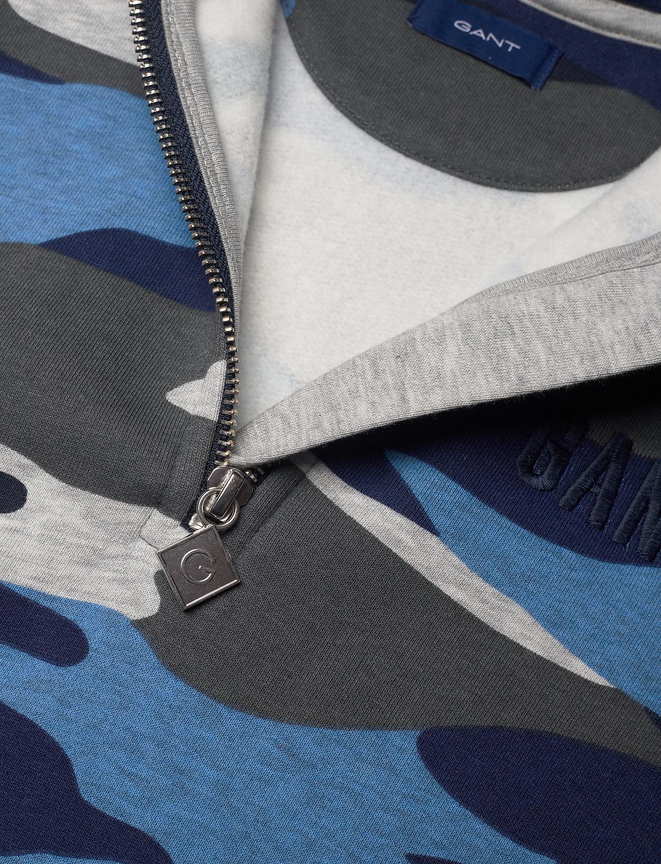D1. Gant Landscape Hoodie (Evening Blue) (74.99 €) - GANT c2My0