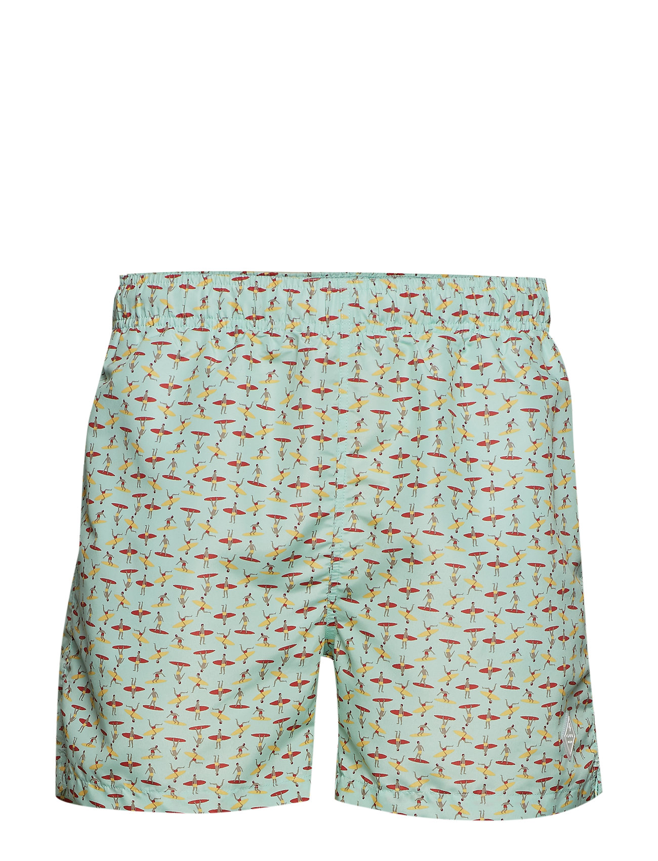 GANT SURFERS SWIM SHORTS CLASSIC FIT - BAY GREEN