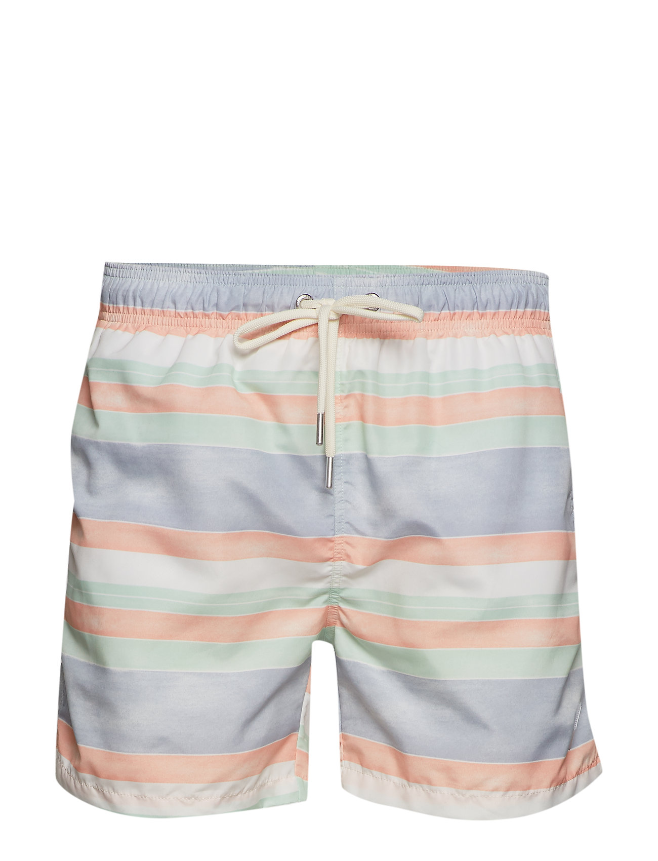 GANT SUNFADED STRIPES SWIM SHORTS C.F - PEACH BUD