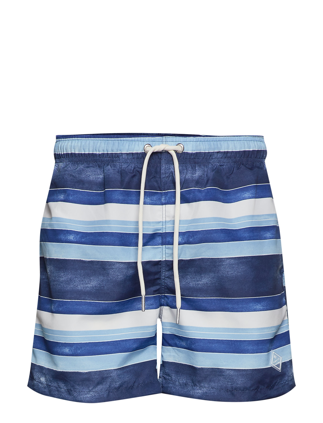 Gant SUNFADED STRIPES SWIM SHORTS C.F - PERSIAN BLUE