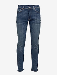 GANT - D1. SLIM ACTIVE-RECOVER JEANS - slim jeans - dark blue broken in - 0