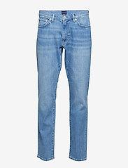 Gant - SLIM GANT JEANS - slim jeans - light blue worn in - 0