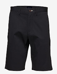 Gant - D1. RELAXED TWILL SHORTS - chinot - black - 0
