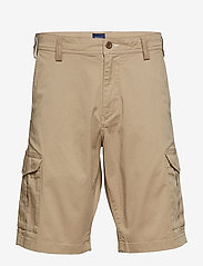 Gant - D1. RELAXED TWILL UTILITY SHORTS - casual shorts - dark khaki - 0