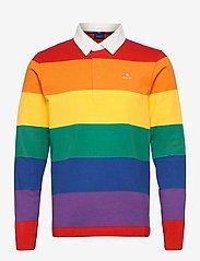 GANT - PRIDE. HEAVY RUGGER - long-sleeved polos - multicolor - 0