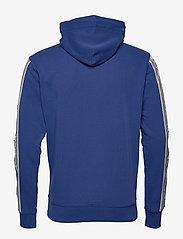 GANT - D1. 13 STRIPES SWEAT HOODIE - basic sweatshirts - crisp blue - 1