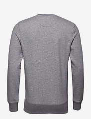 GANT - THE ORIGINAL C-NECK SWEAT - basic-sweatshirts - dark grey melange - 1