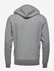 GANT - THE ORIGINAL FULL ZIP HOODIE - hoodies - dark grey melange - 1