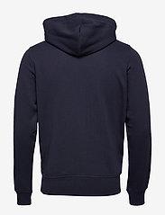 GANT - THE ORIGINAL FULL ZIP HOODIE - hoodies - evening blue - 1