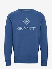 GANT - LOCK UP C - NECK SWEAT - oberteile - bright cobalt - 0