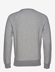 GANT - LOCK UP C - NECK SWEAT - oberteile - grey melange - 2