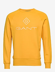 GANT - LOCK UP C - NECK SWEAT - sweatshirts - warm sun - 0